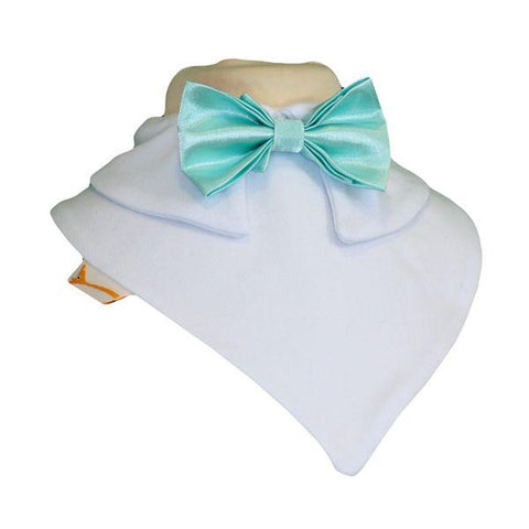 Teal Smart Little Bow Tie Special Occasions Bib