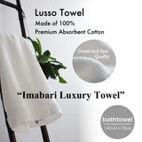 Lusso Towel | Imabari Luxury Towel, Made of 100% Premium Absorbent Cotton, Great and Spa Quality