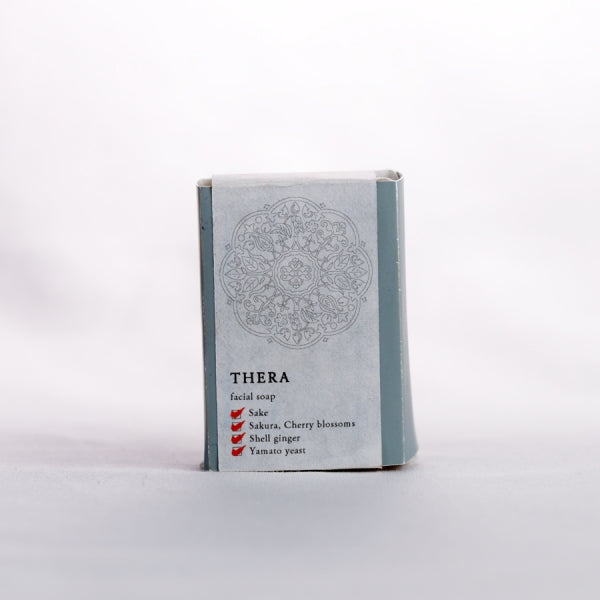 THERA Sake Face Wash Enzyme Soap | Soap from sake that brings a soft finish without feeling tight