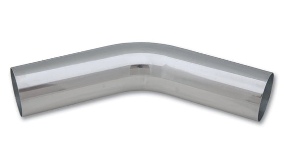 45 Degree Aluminum Bend,- Polished