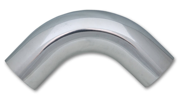 90 Degree Aluminum Bend,- Polished