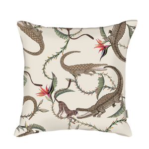 River Chase Driftwood Linen Cushion Cover