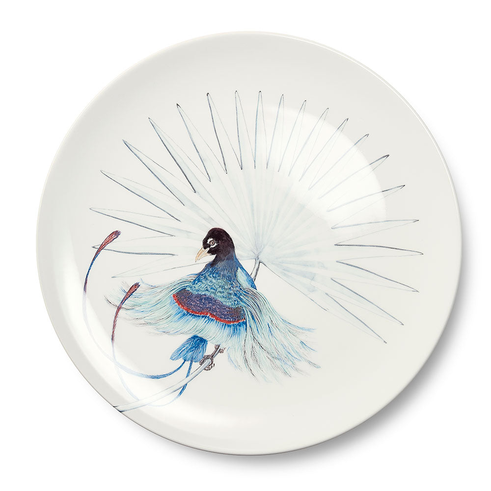 Birds of Paradise White 5 Dinner Plate (25cm)