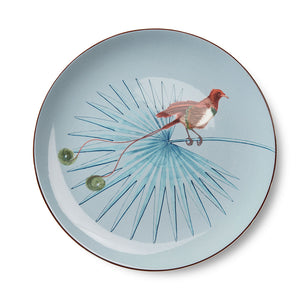 Birds of Paradise Light Blue Dinner Plate (25cm)
