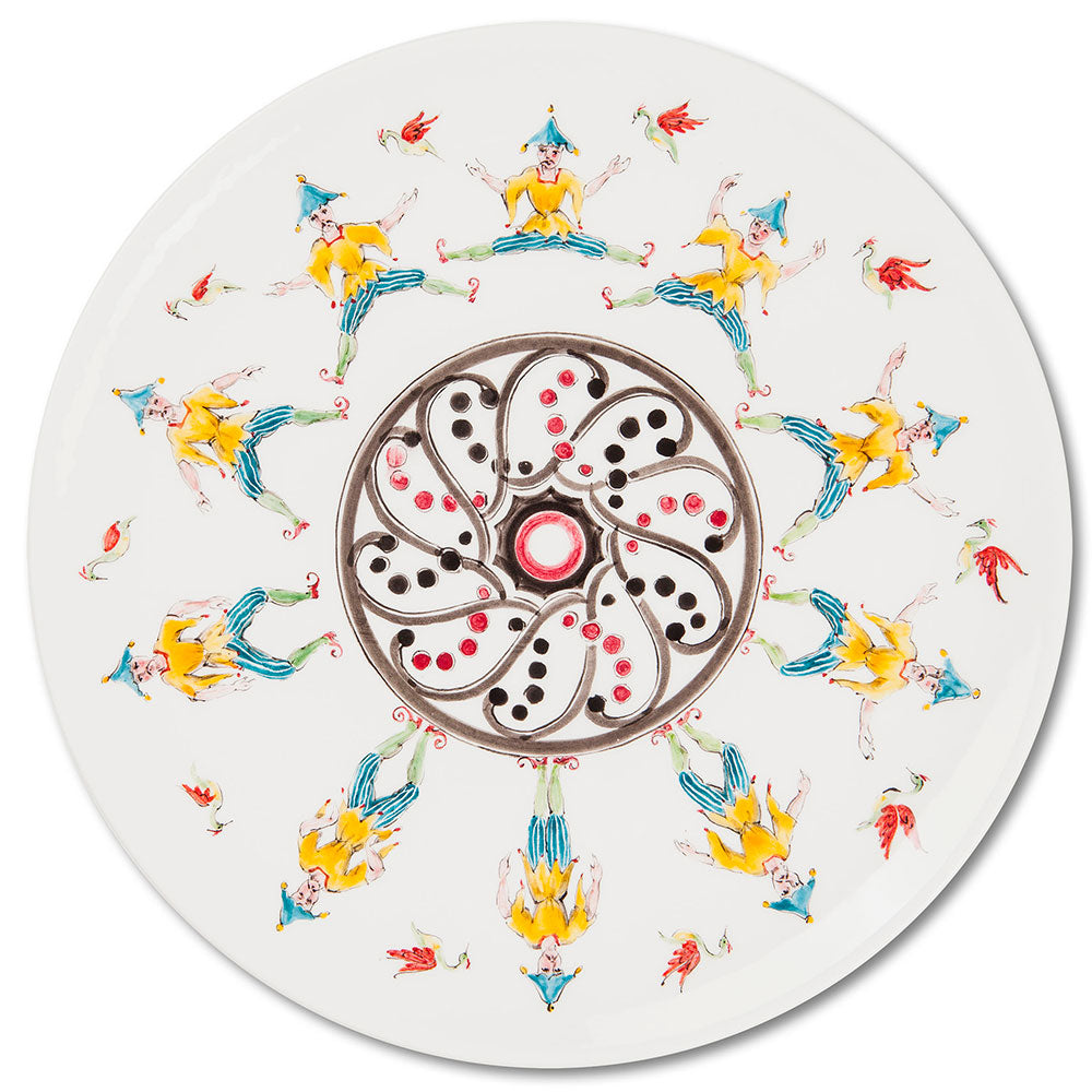 Playplates Jump Dinner Plate (25cm)