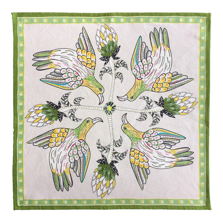 Bird Crossing Napkins Savannah (pair)