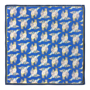 Bird Repeat Napkins Tanzanite (pair)