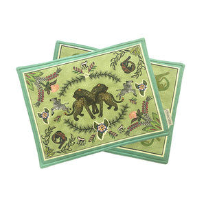 Royal Leopard Placemats Delta (pair)