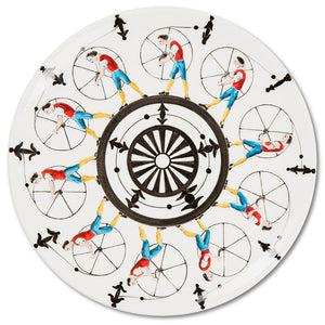 Playplates Wheel Dinner Plate (25cm)