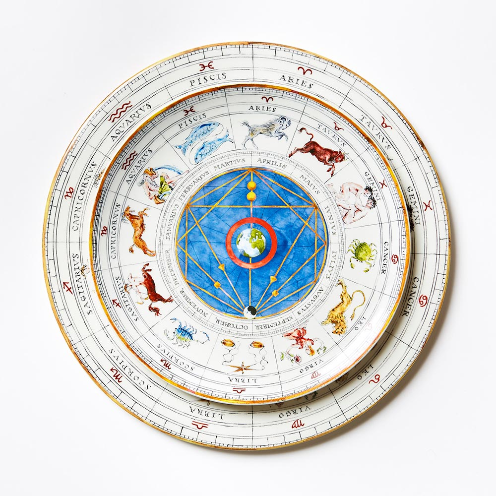 All Zodiac Dinner Plate (25cm)