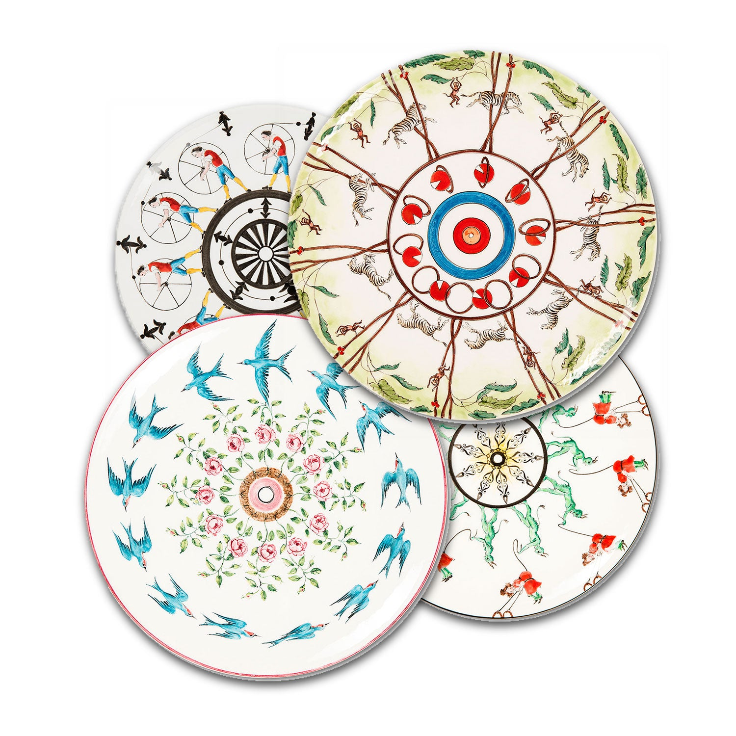 Playplates Swallows Dinner Plate (25cm)