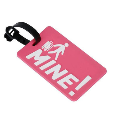 Funny Bag Tag-Discount Backpacker Supplies