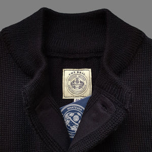 THE BRIG CARDIGAN - BLACK