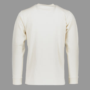 North Sea Clothing ecru long sleeve t-shirt