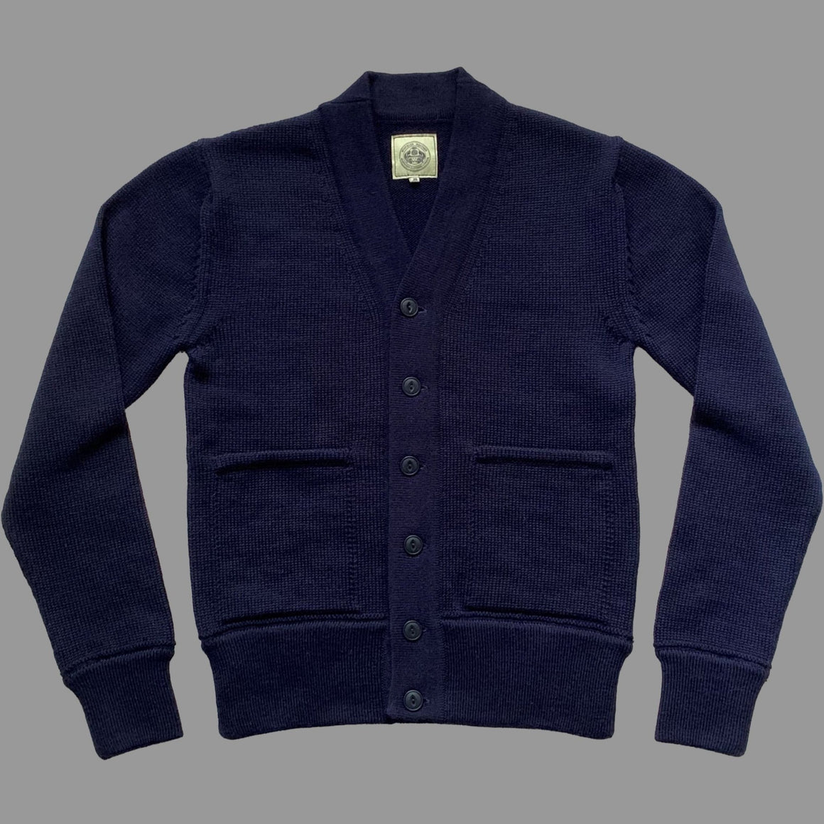 NEW - THE ENGINEER CARDIGAN - NAVY