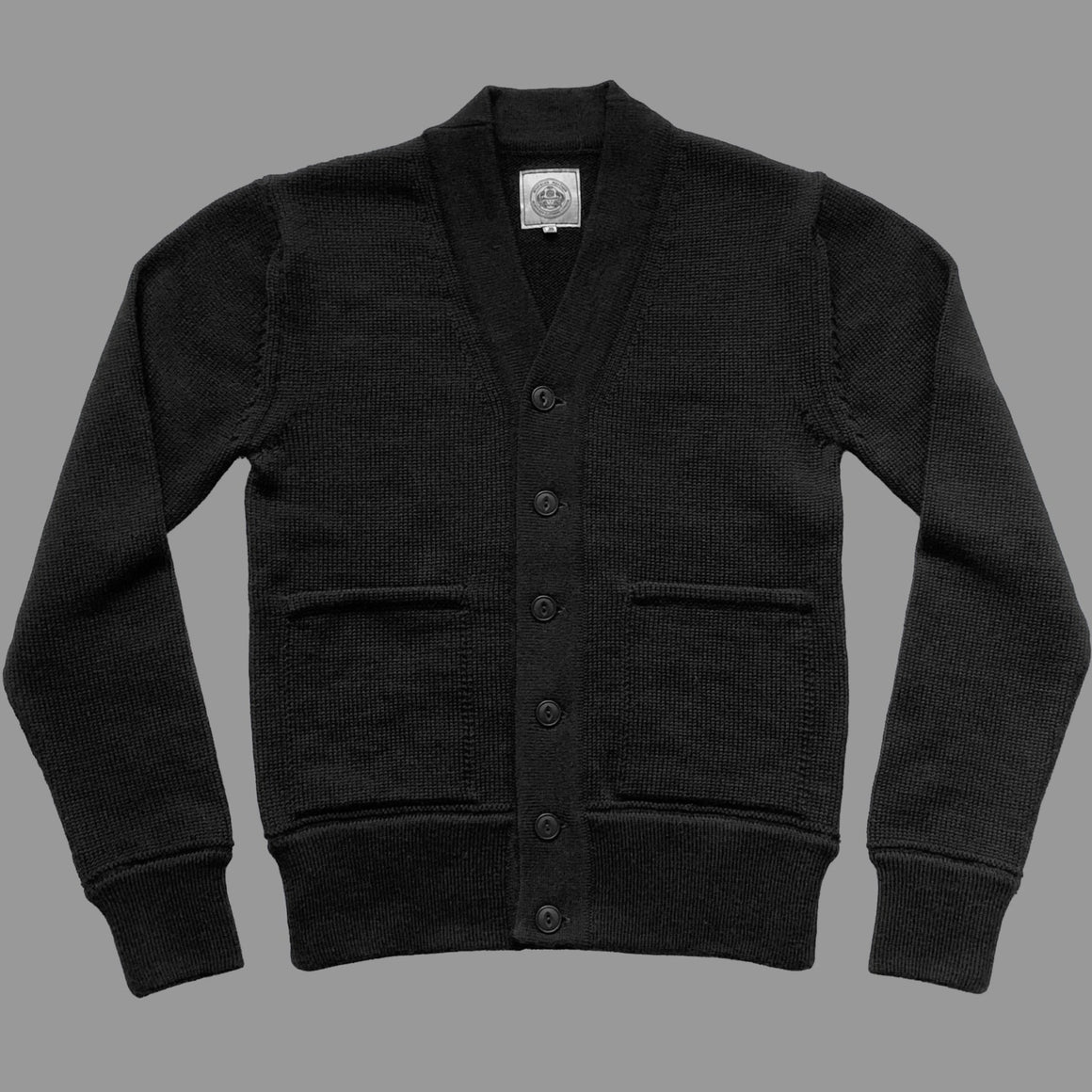 NEW - THE ENGINEER CARDIGAN - BLACK