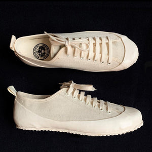 MARINE TYPE 2 DECK SHOE LTD EDITION HERRINGBONE ECRU/ECRU