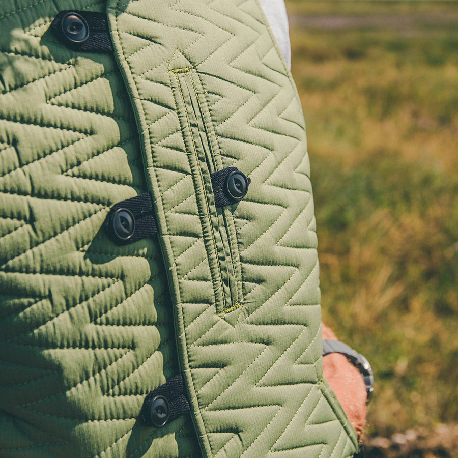 BODY WARMER TYPE 2 - OLIVE GREEN