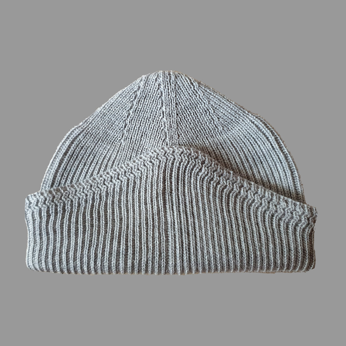 N.S.C DECK HAT -  MID GREY