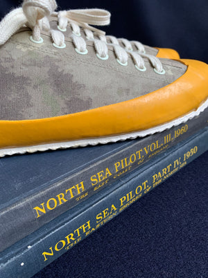 MARINE TYPE 2 DECK SHOE - CAMOUFLAGE/YELLOW