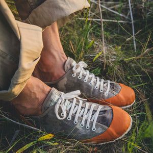 MARINE TYPE 2 DECK SHOE - CAMOUFLAGE/ORANGE