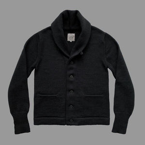 THE EXPEDITION CARDIGAN -  BLACK