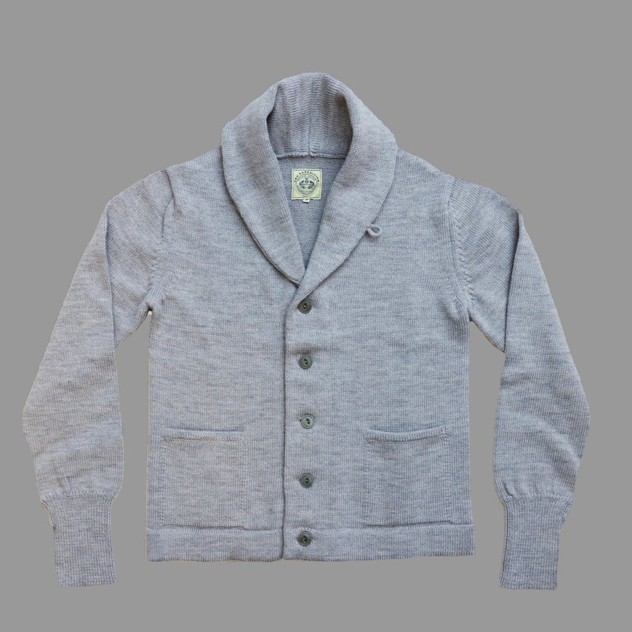 THE EXPEDITION CARDIGAN - GREY