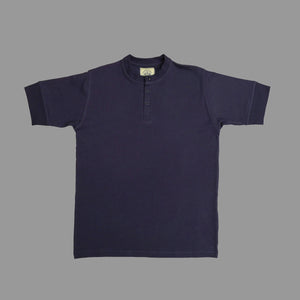 HENLEY LIGHTWEIGHT SHORT SLEEVE TEE NAVY