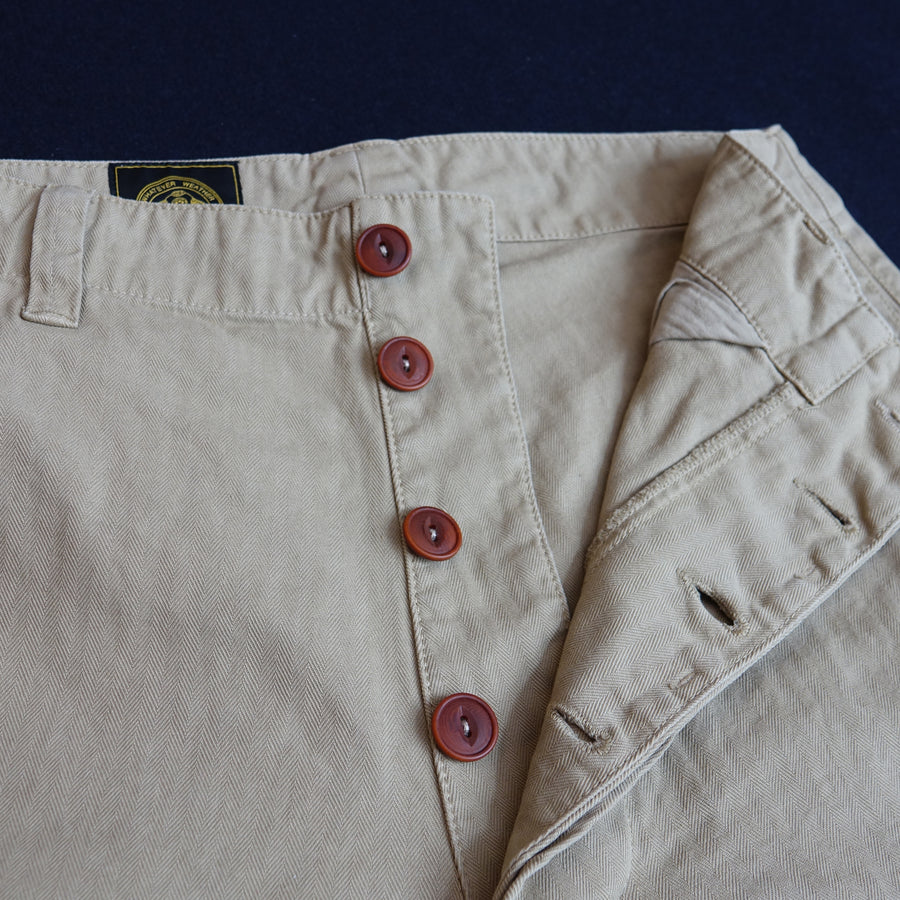 HBT WORKERS TROUSER KHAKI