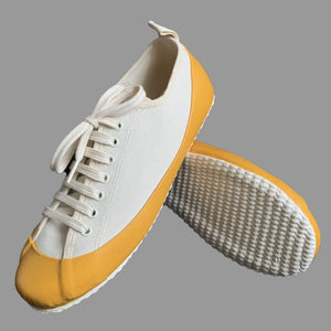 MARINE TYPE 2 DECK SHOE ECRU/YELLOW