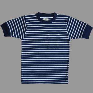 STRIPE CREW NECK SHIRT