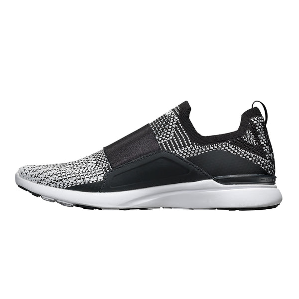 Men's TechLoom Bliss Black / White / Ombre