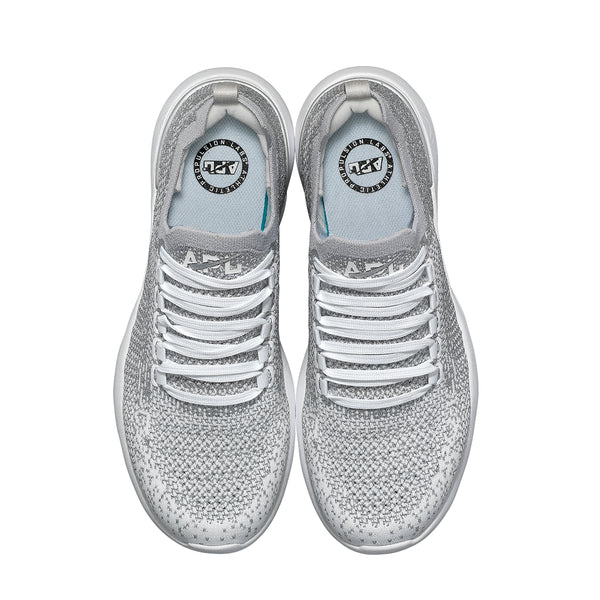 Men's TechLoom Breeze Metallic Silver / White / Ombre