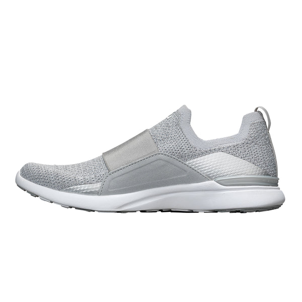 Women's TechLoom Bliss Metallic Silver / White