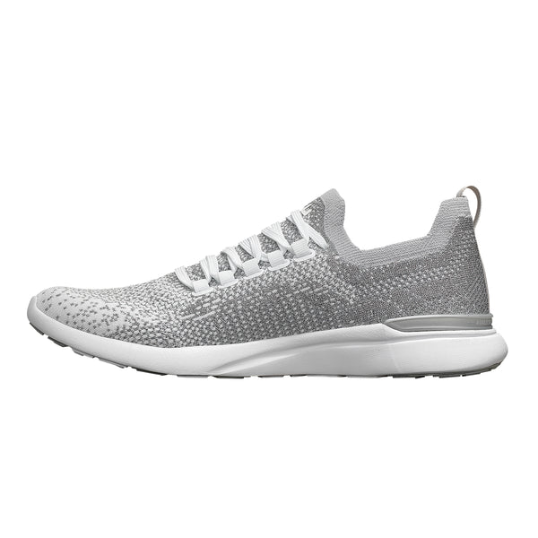 Women's TechLoom Breeze Metallic Silver / White / Ombre