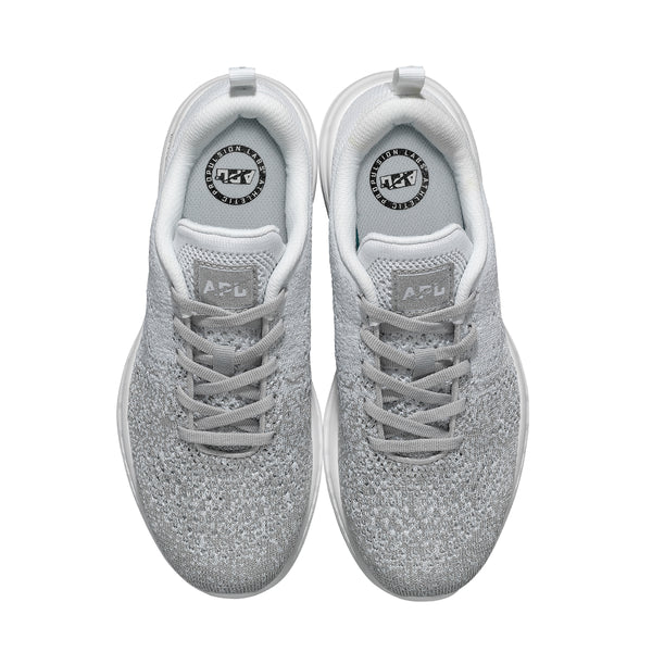 Men's TechLoom Pro Metallic Silver / White / Ombre