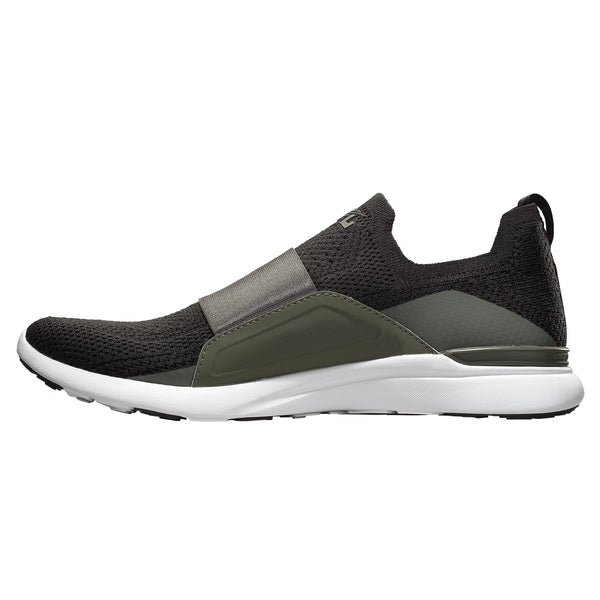 Men's TechLoom Bliss Black / Fatigue / White