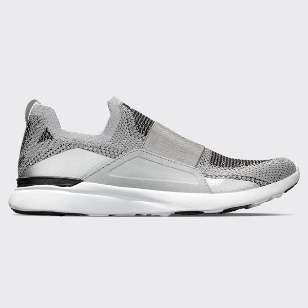 Men's TechLoom Bliss Metallic Silver / White / Black