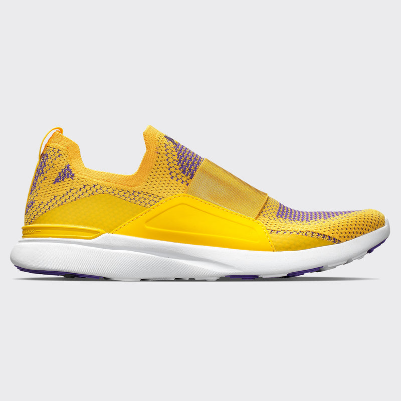 Men's TechLoom Bliss Racing Yellow / Electric Purple / White