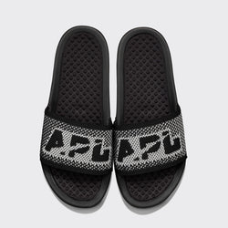 Men's Big Logo TechLoom Slide Black / White