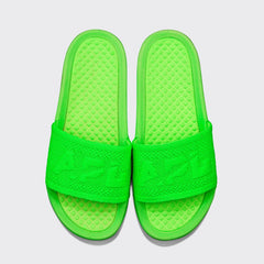 Men's Big Logo TechLoom Slide Neon Green