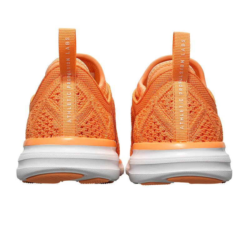 Women's TechLoom Phantom Orange Sherbet / White