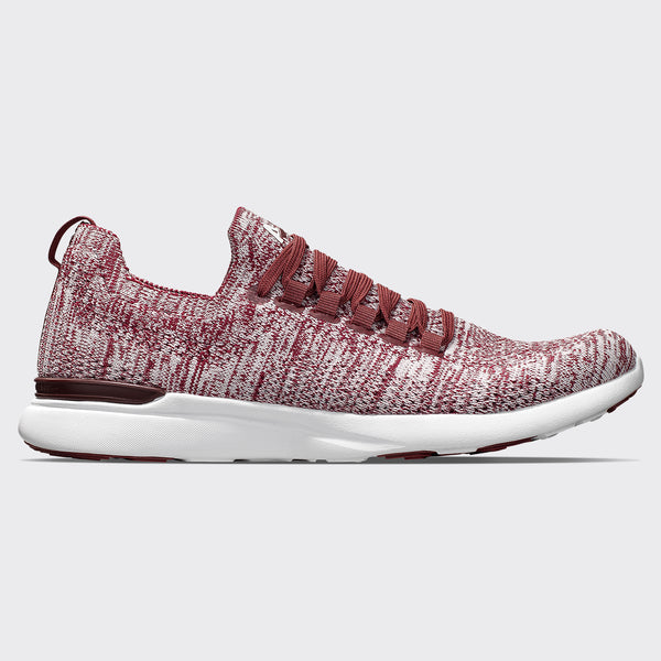 Women's TechLoom Breeze Burgundy / White / Melange