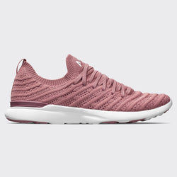Women's TechLoom Wave Red Wine / White