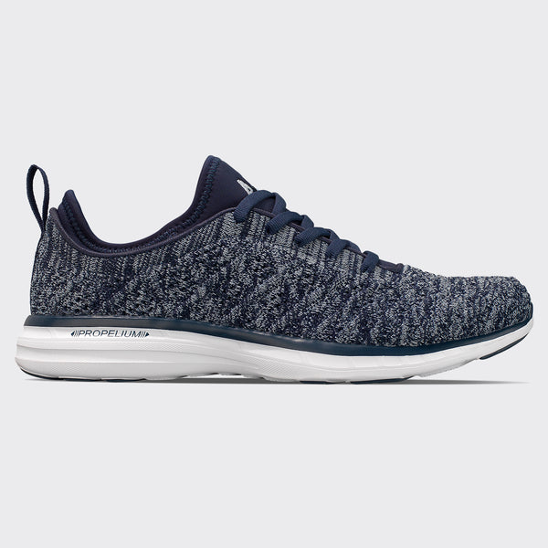 Men's TechLoom Phantom Midnight / White / Melange