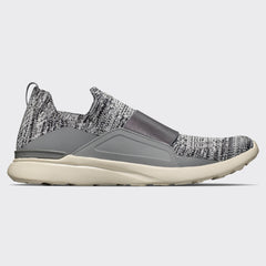 Men's TechLoom Bliss Heather Grey / Pristine