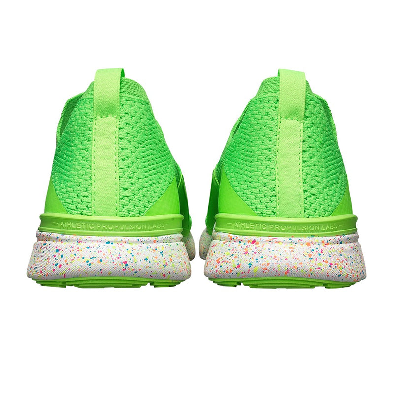 Men's TechLoom Bliss Neon Green / White / Speckle