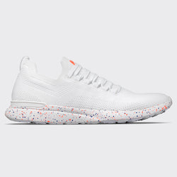 Men's TechLoom Breeze White / Impulse Red / Blue Haze