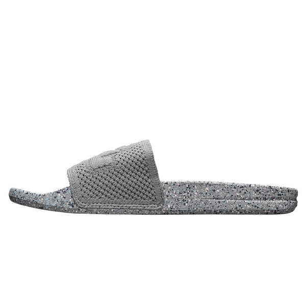 Men's Big Logo TechLoom Slide Cement / Chalk / Raindrop