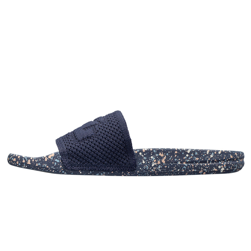 Men's Big Logo TechLoom Slide Navy / Pristine / Blue Oxide